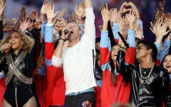 Coldplay, Brunos Mars & Beyoncé enflamment la mi-temps du Super Bowl 2016