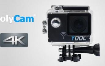 Action Cam : 3 raisons de craquer pour la DolyCam Ydol 4K