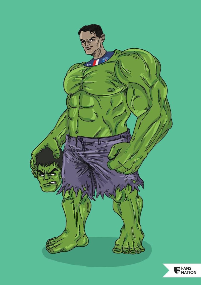 Les Invincibles du PSG : Thiago Silva / Hulk