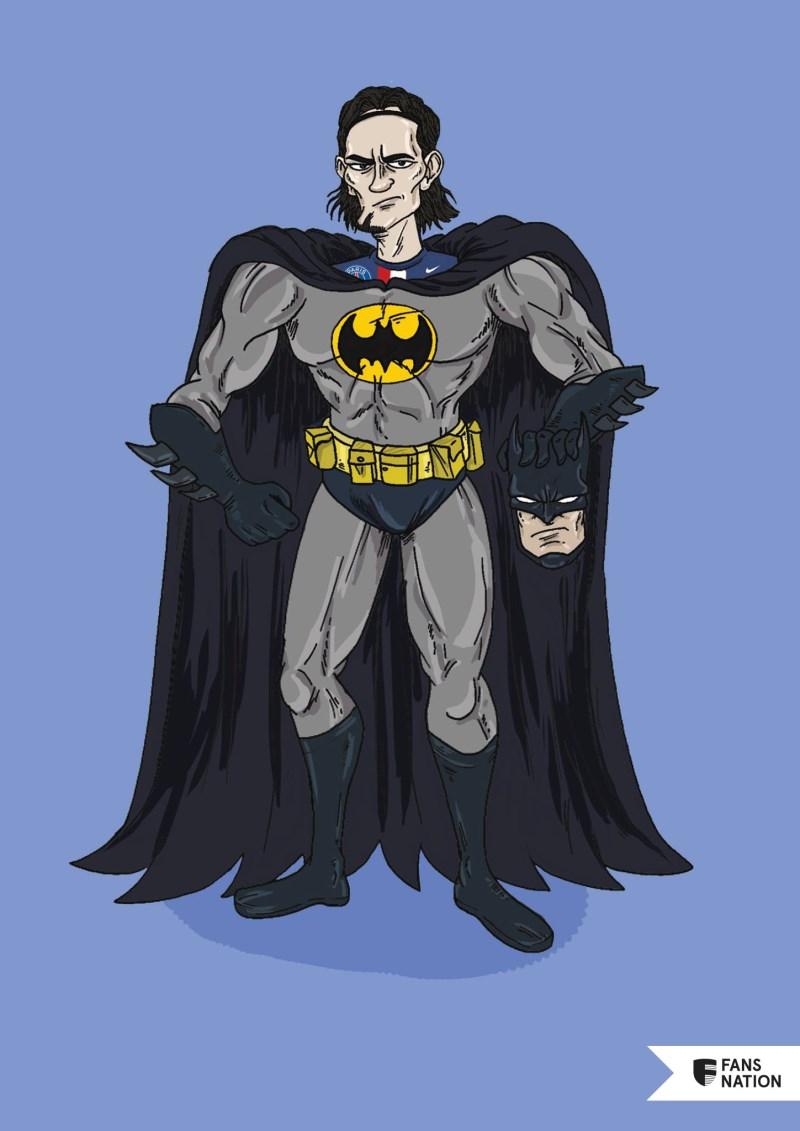 Les Invincibles du PSG : Edinson Cavani / Batman