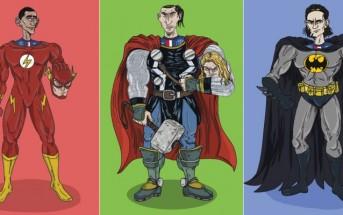 Les Invincibles du PSG : les joueurs dessinés en super-héros
