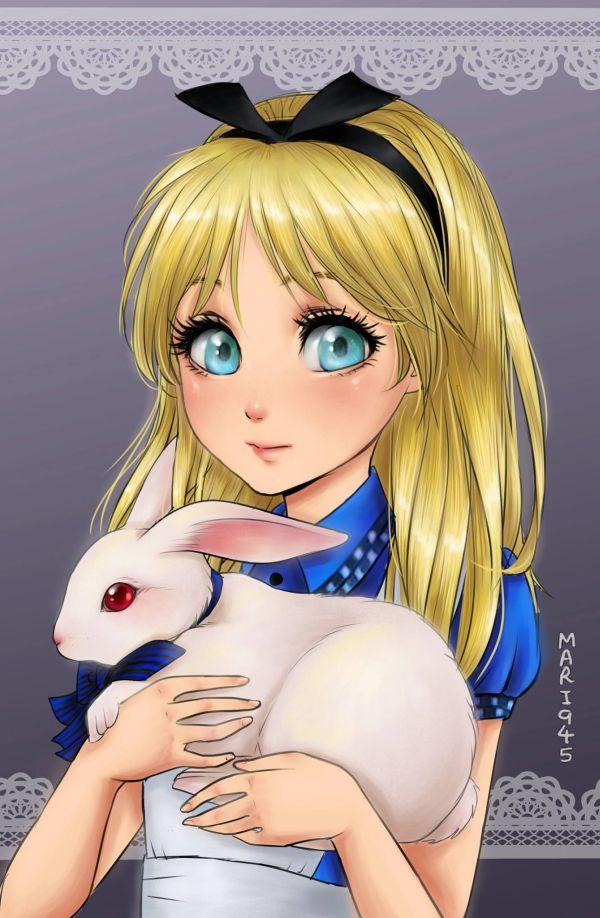 princesses-disney-manga-02-Alice