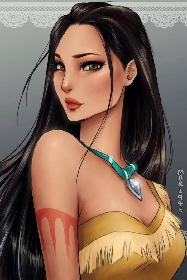 princesses-disney-manga-05-Pocahontas