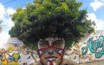 Graffiti végétal : quand le street art joue avec la nature