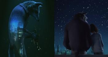 untamed : court-métrage sur un loup-garou tompettiste de jazz - The Animation Workshop