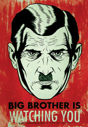 1984 de George Orwell : Big Brother is wtaching you