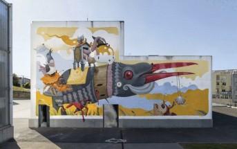 A.L. Crego : quand le street-art s'anime en GIFs