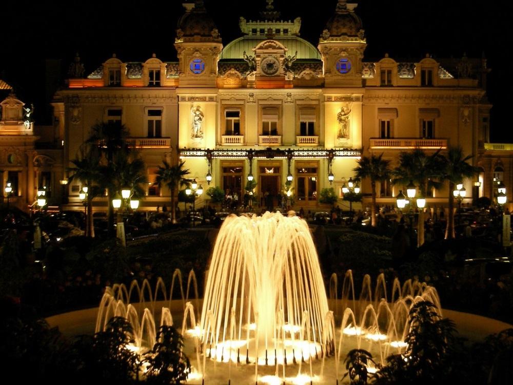 Le luxueux Casino de Monte-Carlo à Monaco
