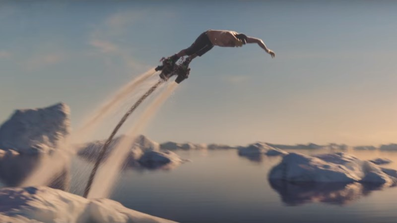 #FlyBoardFishing : la pub WTF de Fisherman's Friend (2016)