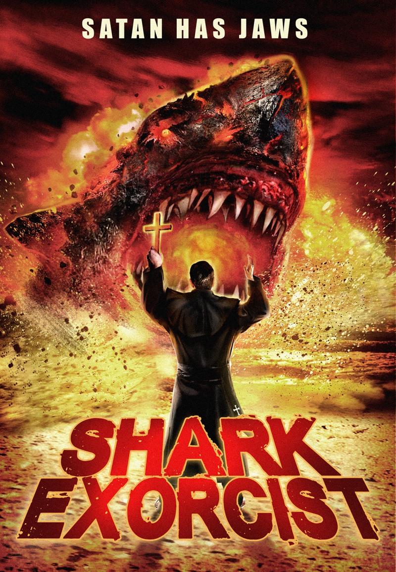 Shark Exorcist : l'affiche du film (ou plutôt nanar) 2016