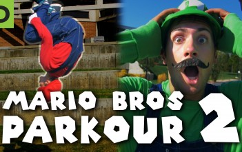 Super Mario Brothers Parkour 2 [In Real Life] - Dark Pixel