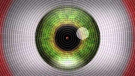 illusion d'optique du mouvement-après-effet stroboscopique