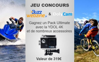 Jeu concours : gagnez 1 pack Ultimate Dolycam YDOL 4K (299€)