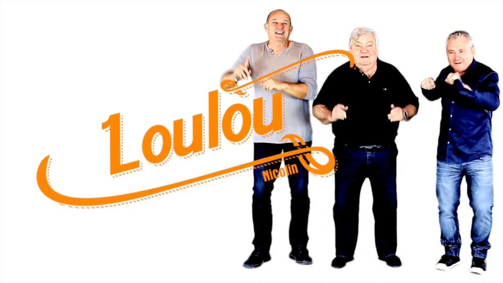 Loulou Nicolin danse la crapola dans le clip de Ricoune