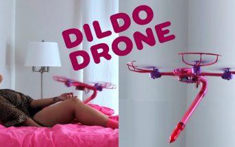 Dildo Drone : un gode volant autonome, le sextoy du futur !