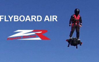 Flyboard Air : l'incroyable plateforme volante autonome