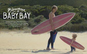 Baby Bay : les bébés Evian se mettent au surf dans la pub 2016