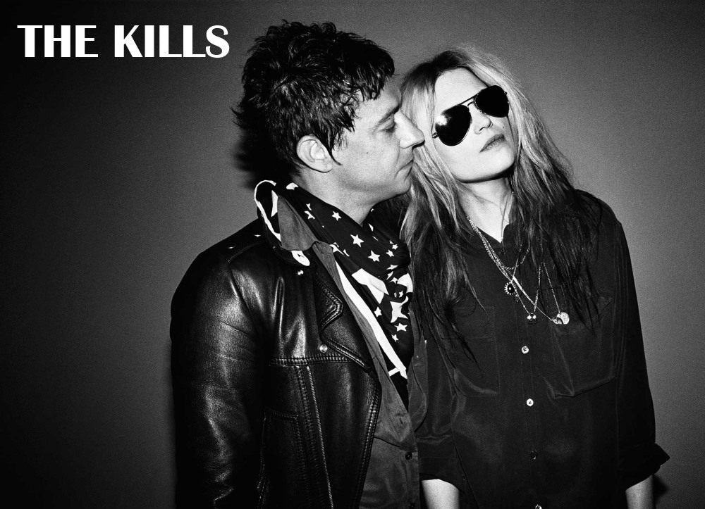 Le groupe de Rock indie The Kills : Jamie Hince & Alison Mosshart