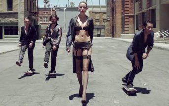 Skater's Paradise : un fashion film mêlant lingerie et skate