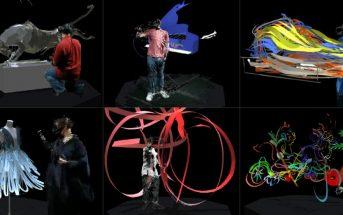 Vidéo : 6 artistes peignent en 3D grâce à la réalité virtuelle