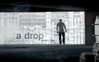 a Drop : la chute libre métaphorique d'un homme isolé