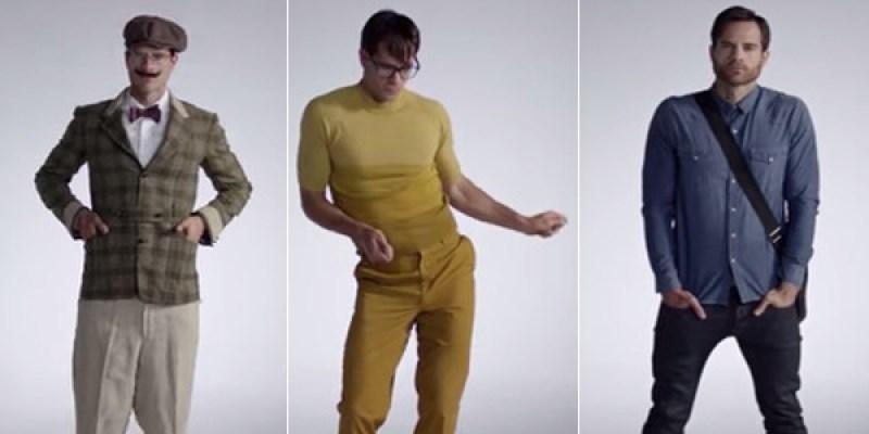 100 ans de mode masculine de 1915 à 2015