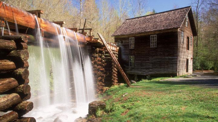 Le moulin Mingus, Caroline du Nord