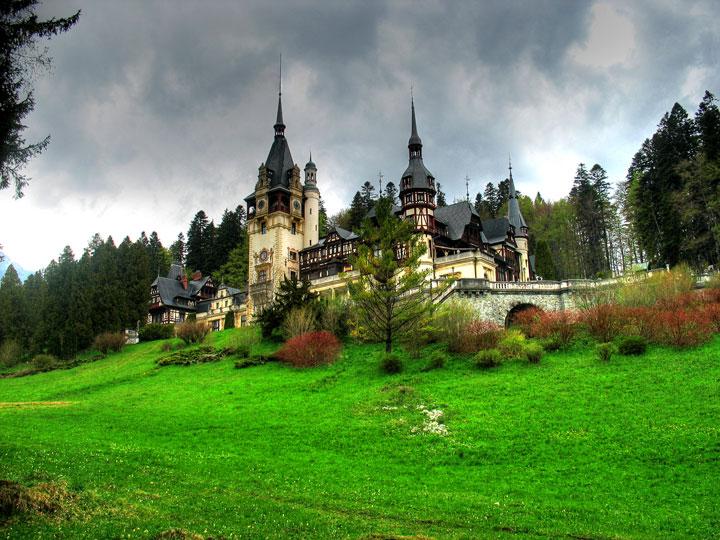 Le château de Peles, Roumanie