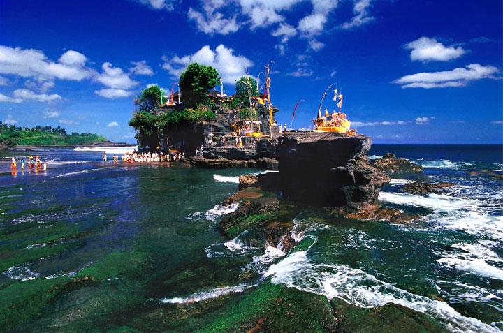 Temple à Bali, Indonésie