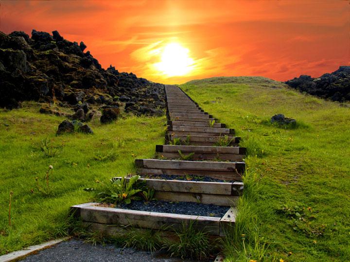 """Le chemin vers le paradis"", Iceland"