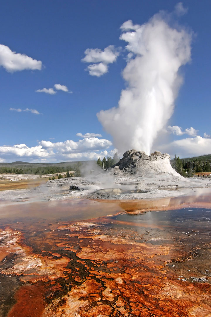 Le parc national du Yellowstone, Etats-Unis