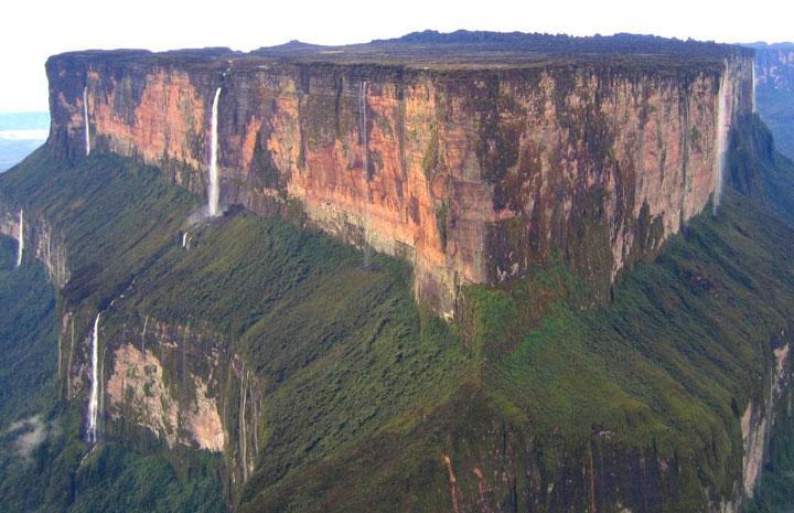 Le mont Romaima, Venezuela