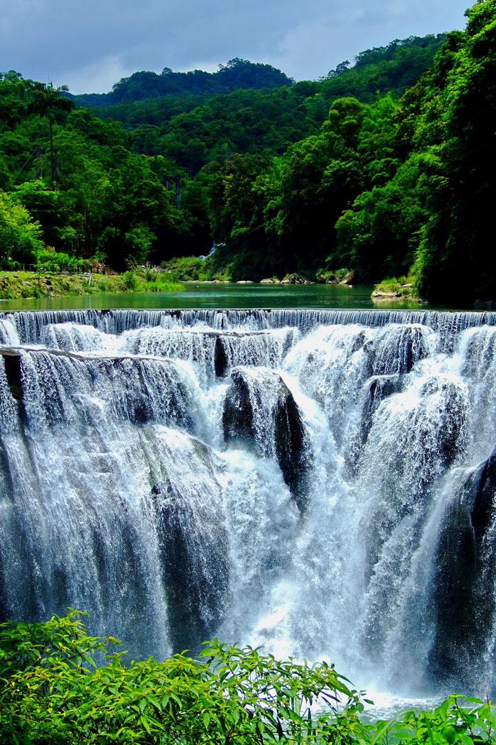 Les chutes de Shifen, Taïwan
