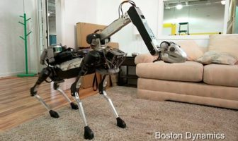 SpotMini, le robot ménager de Boston Dynamics