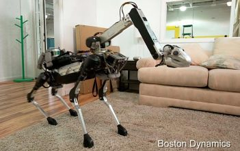 SpotMini, le robot ménager de Boston Dynamics
