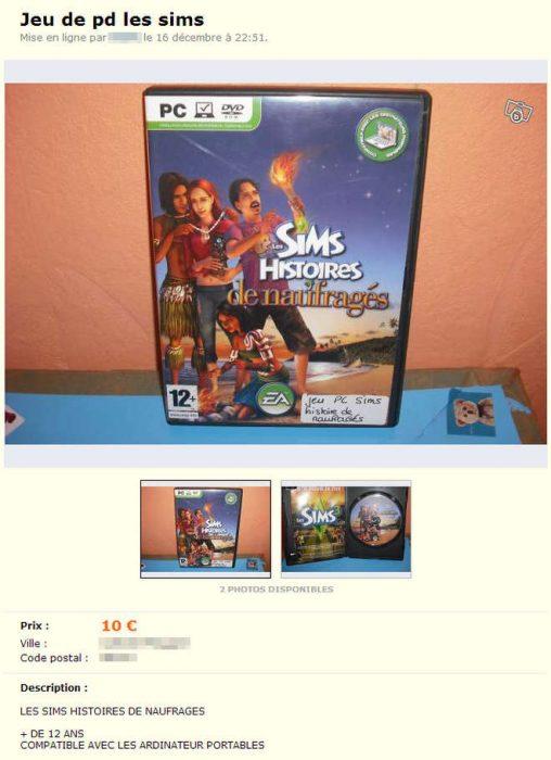 Les annonces de ventes qui nous font marrer ! - Page 19 Best-of-petites-annonces-insolites-web-16-jeu-pd-sims-508x700