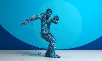 Des danseurs se transforment en avatar 3D dans le clip AICP 2016