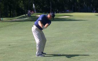 Golf : il met un tir de 143m directement dans le trou sans rebond !