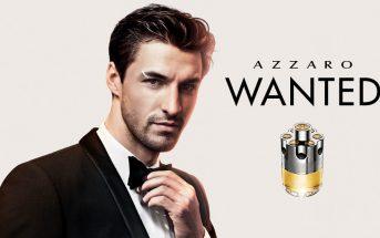 Musique & mannequin de la pub parfum Azzaro Wanted 2016