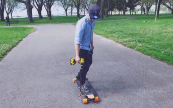 Il transforme une perceuse en moteur de skateboard électrique