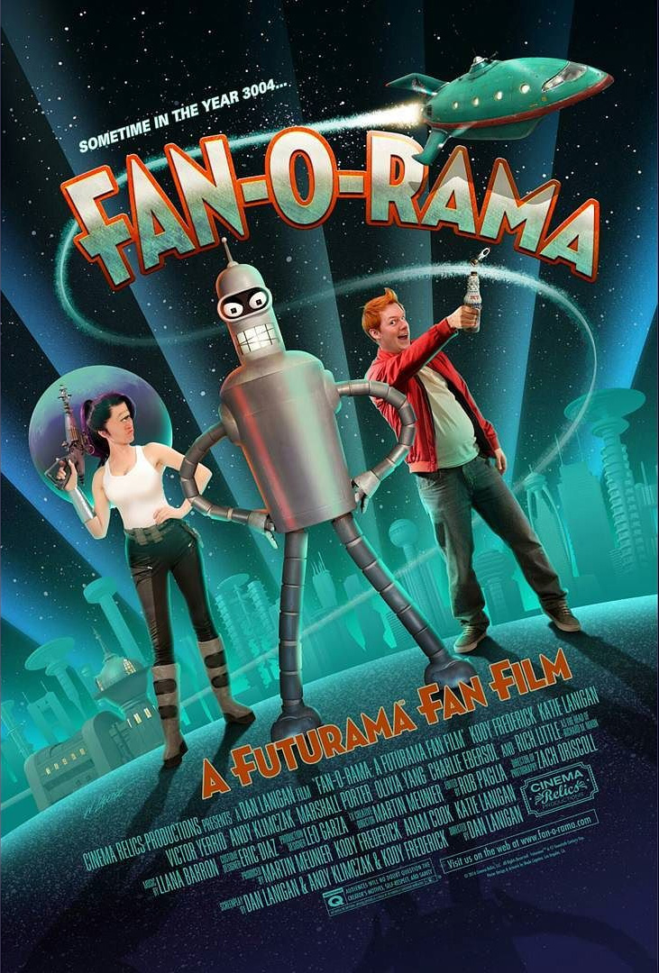 FAN-O-RAMA-Futurama-Fan-Film-Affiche