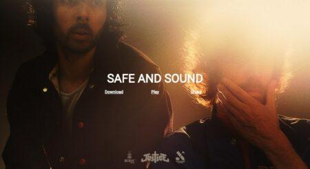 Safe And Sound - Justice - télécharger