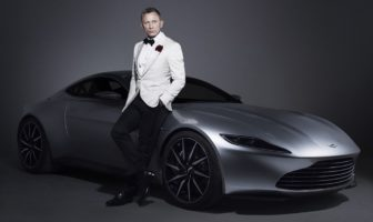 james bond 007 auto voiture