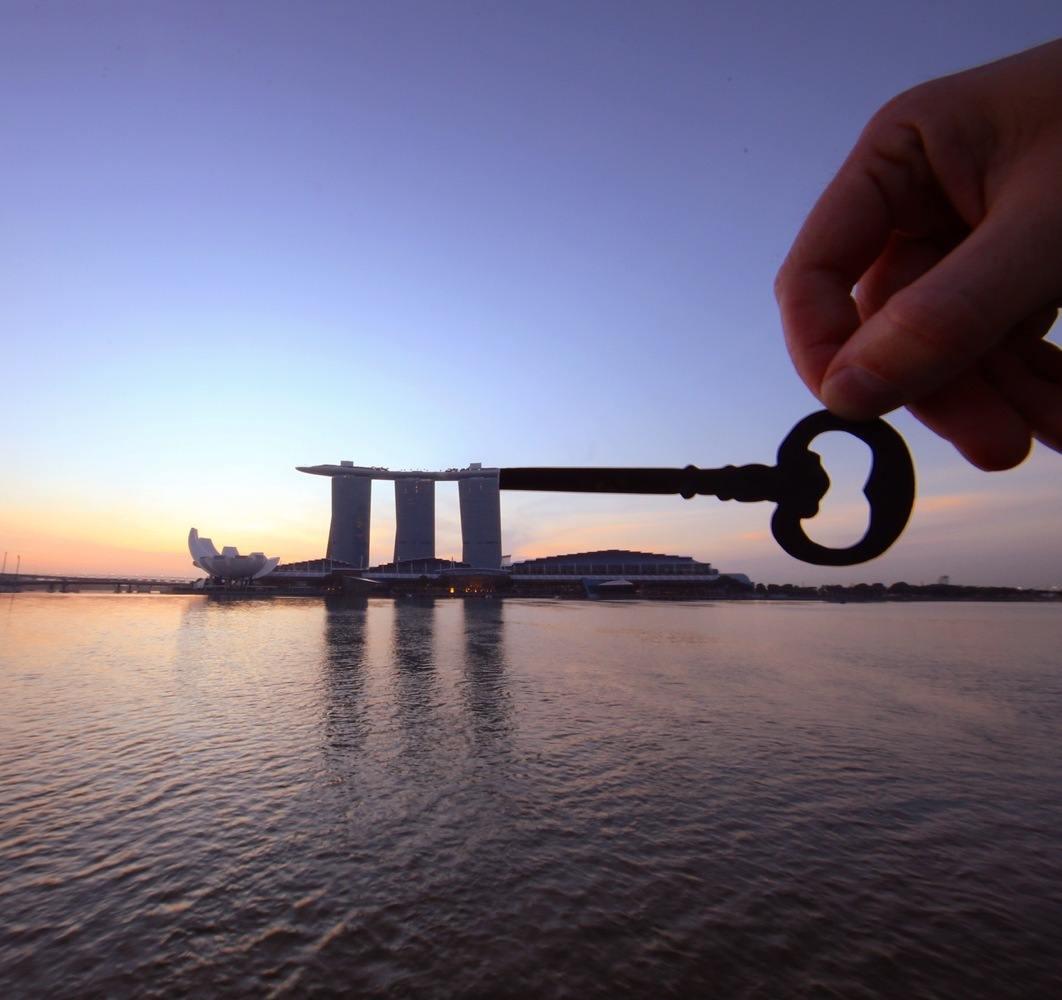 paperboyo : Marina Bay Singapour