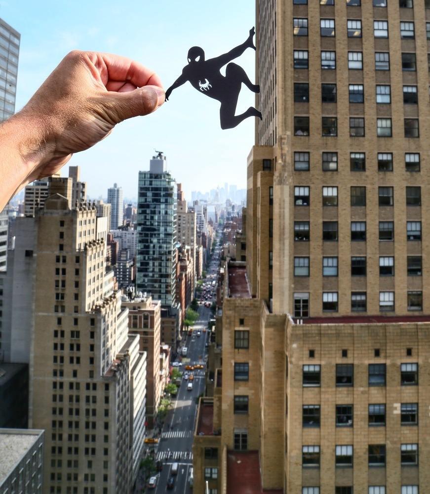 paperboyo : Spiderman New-York