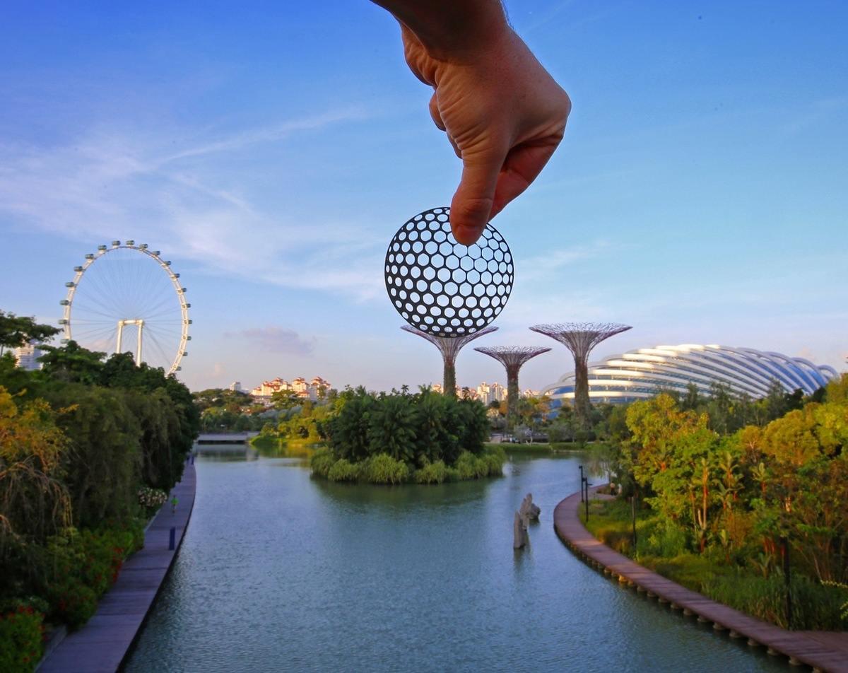 paperboyo : Jardin de Singapour