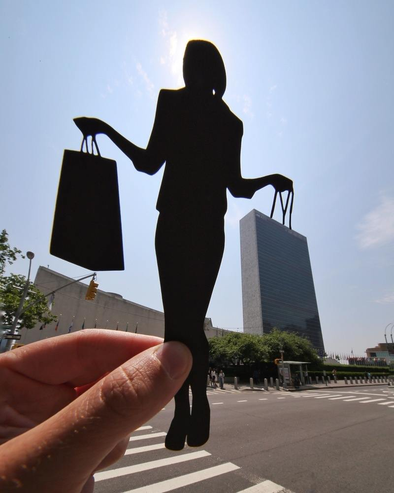 paperboyo : shopping au building des Nations Unies New York