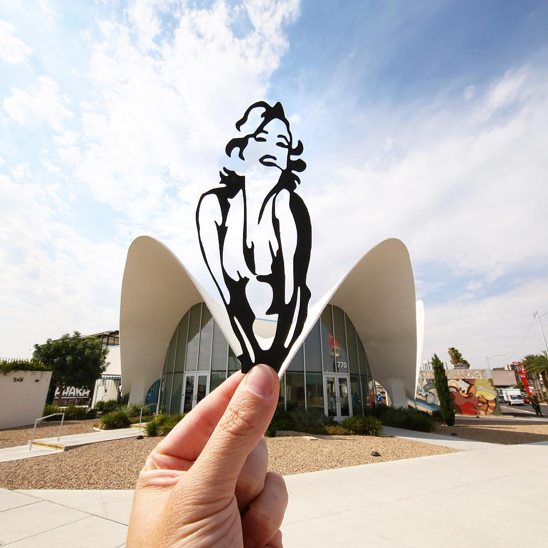 paperboyo : Marilyn Monroe au Neon Museum de Las Vegas
