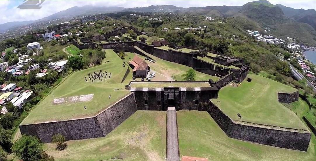Fort Fleur d'épée - Grande Terre, Guadeloupe