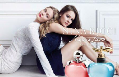 Nina & Luna : Frida Gustavsson et Jac Monika Jagaciak dans la pub du pafum Nina Ricci 2016